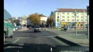 preview picture of video 'Driving in Citroën Xantia in Praha (Prague) to Kaufland'