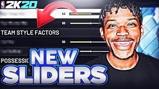 These New NBA 2K20 Sliders Broke The Game...