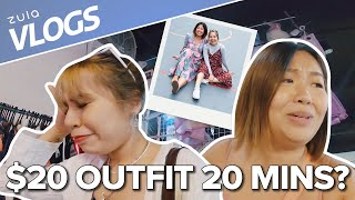 $20 Outfit Challenge At Lucky Plaza Flea Market | ZULA Vlogs | EP 1