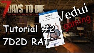 7 Days To Die | Server Management | 7D2D RAT Tutorial