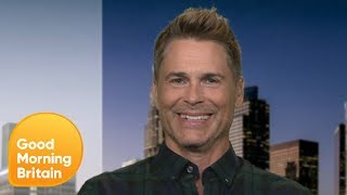 Rob Lowe Sets The Record Straight On His Prince William Hair Loss Comments | Good Morning Britain
