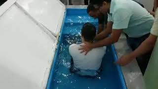 Família duas vezes: Renato é batizado