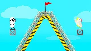 Gambar cover WORLD'S HARDEST HILL TOP LEVEL! (Ultimate Chicken Horse)