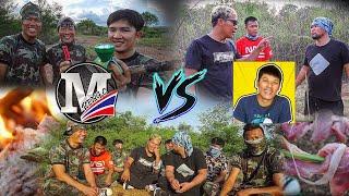 แข่งเอาชีวิตรอดในป่า   CLASSIC NU vs M PENG C