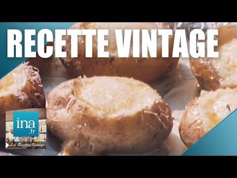Recette : Les pommes de terre gratinées au four | Archive INA