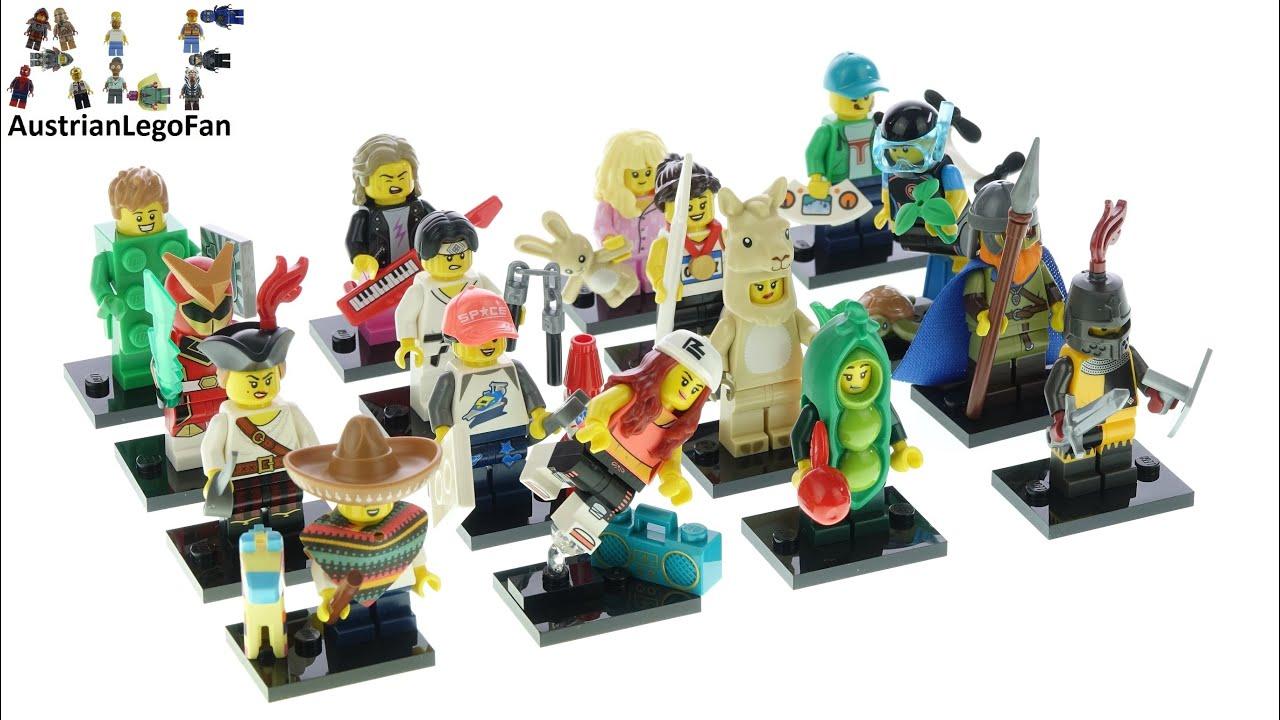 LEGO 71027 Minifigures Series 20 All 16 Figures Speed Build