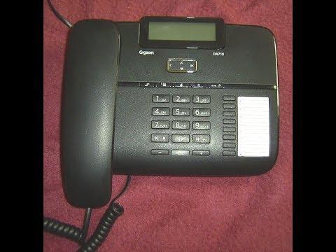 Telefon  Gigaset DA710  schnurgebundenes Analog