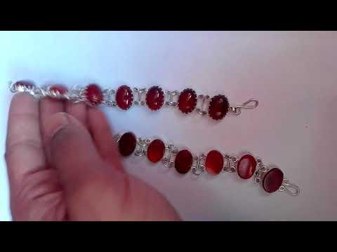 Bracelet (Sulemani Aqeeq) by Al-Madina Gemstones - смотреть
