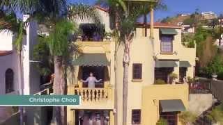 Bella Villa Sul Monte - 8233 Roxbury Road - $3.5 m - Former Barry Manilow Estate