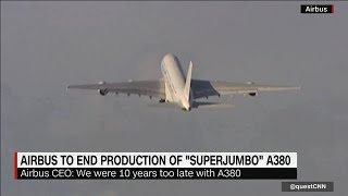 Airbus Ends Production Of A380 Plane