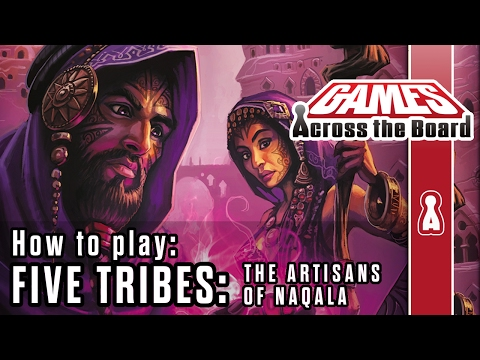 Five Tribes: The Artisans of Naqala – The Rules
