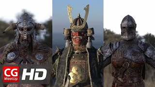 """CGI 3D Breakdown HD: """"Making of For Honor"""" by Unit Image"""