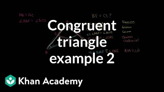 Grade 8 Math | Geometry proof problem: congruent segments| Khan Academy