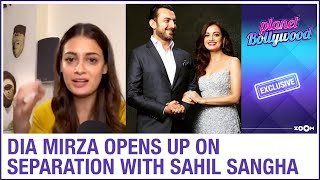 Dia Mirza OPENS UP About Her Separation With Film Producer Sahil Sangha | Exclusive