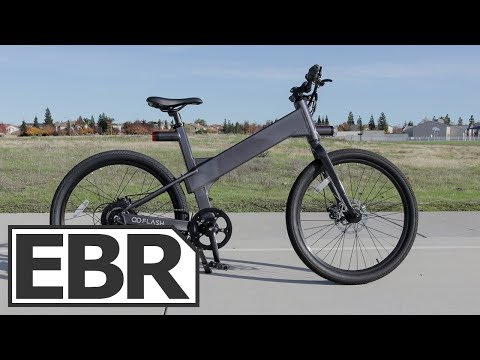 Flash V1 Bike Video Review – $2k Smart Urban Electric Bike with GPS Tracking App