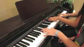 Something's Gotta Give - All Time Low (Piano Duet Cover) // Noelle & Natalie