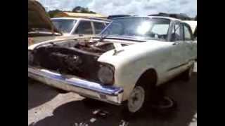 old cars in florida junk yard