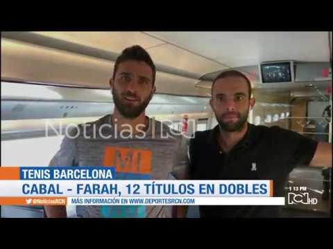 Juan Sebastian Cabal y Robert Farah se coronan campeones del ATP 500 de Barcelona