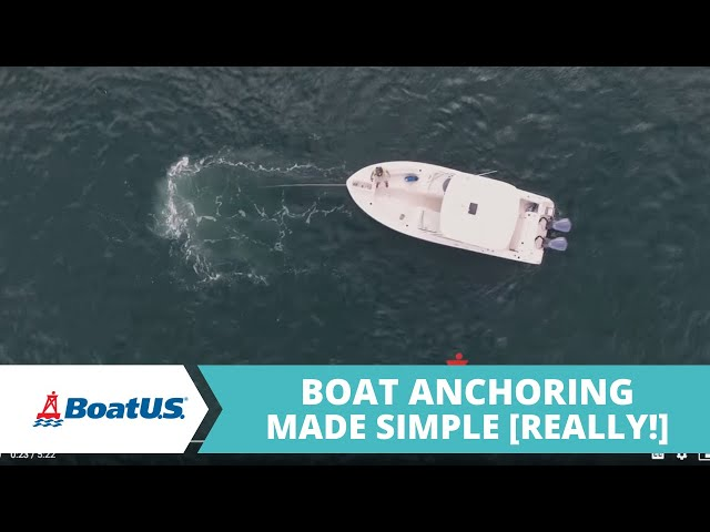 Boat Anchoring Made Simple | BoatUS