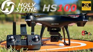 HolyStone HS100 GPS 2K 5G WiFi FPV Drone | How To Setup & Flight Test