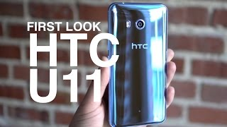 HTC U11 First Look and Tour!