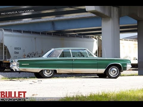 1965 Chrysler New Yorker Test Drive Video