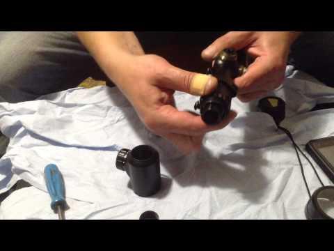 Разборка оптического прицела самый простой способ 2