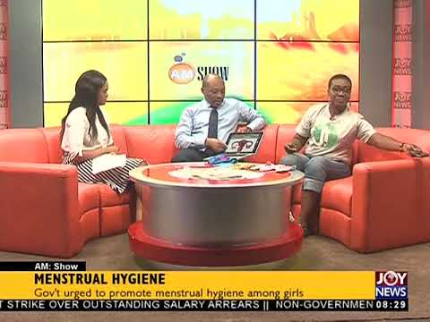Menstrual Hygiene - AM Show on JoyNews (28-5-18)