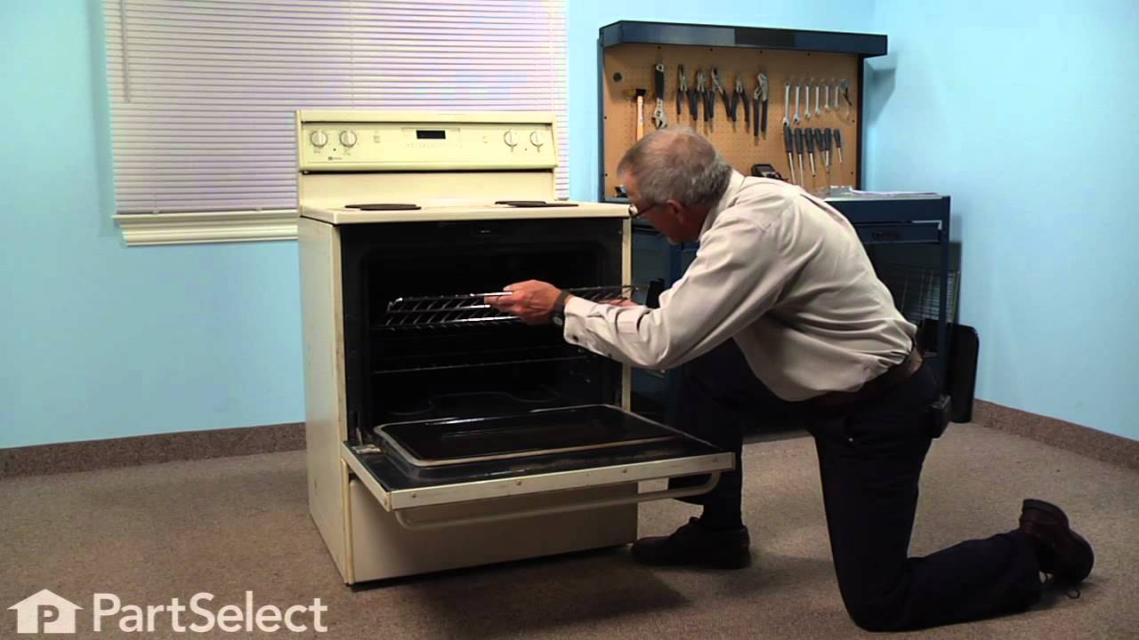 Replacing your Maytag Range Oven Rack