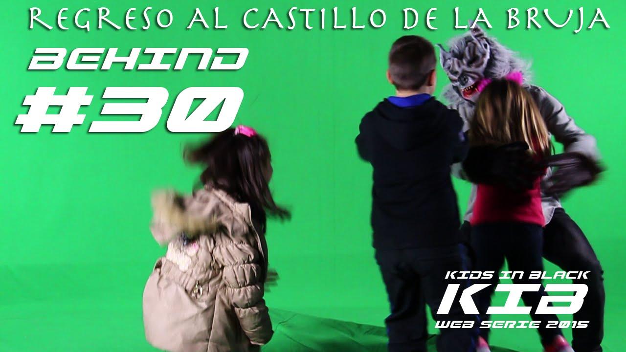 Regreso al Castillo de la Bruja - Kids In Black 2015 - Detrás de las cámaras #30