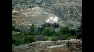 preview picture of video 'Avşar Barajı Patlatma Çalışmaları'