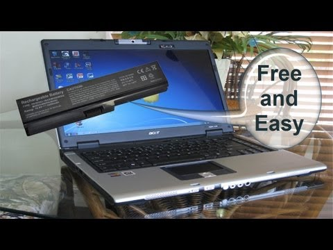 """Laptop Battery not charging """"plugged in, not charging"""" Free Easy Battery Fix"""