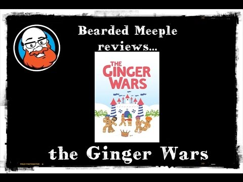 Bearded Meeple reviews the Ginger Wars