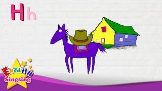 H là dành cho Hat, Ngựa, Nhà - Thư H - Alphabet Sông
