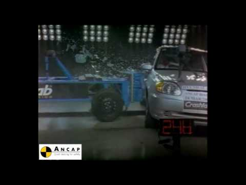 Hyundai Accent 2003 ANCAP Crash Test (3 stars)