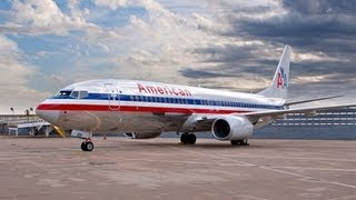 preview picture of video 'American Airlines 737-800 Takeoff from Philadelphia!'