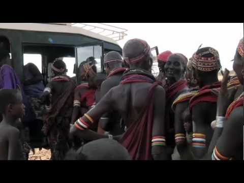 Rhythms Del Mundo: Africa. Press Video & Famine Appeal