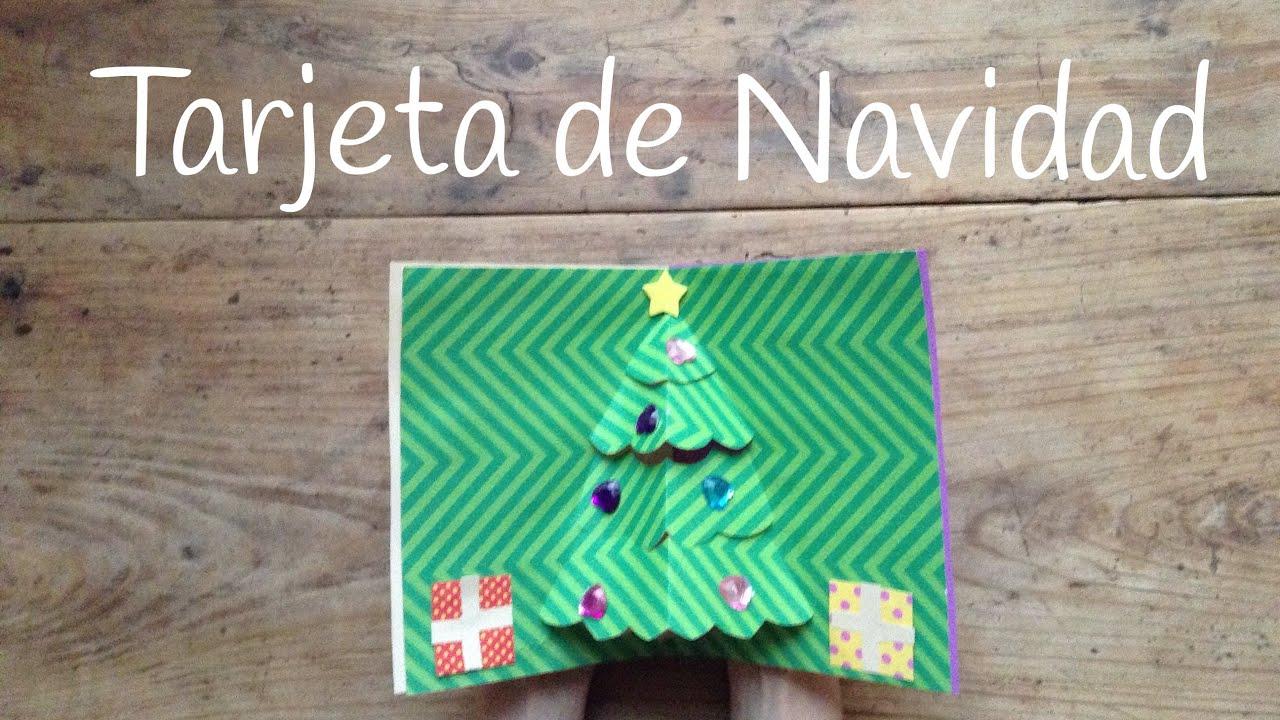 Tarjetas de Navidad en 3D, un árbol de Navidad súper chulo