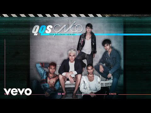 CNCO - De Mí (Audio)