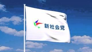 新社会党の旗