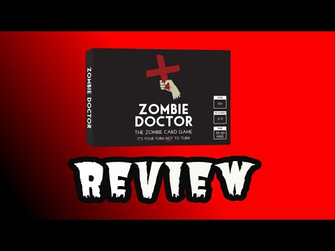 Lucky Roll Reviews - Zombie Doctor: the Zombie Card Game