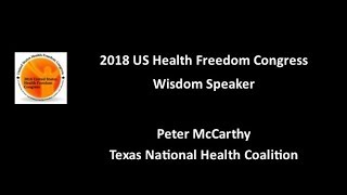 Peter McCarthy: 2018 Congress Wisdom Speaker
