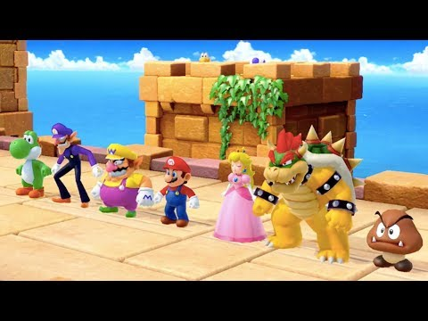 Super Mario Party - All Survival Minigames | MarioGamers