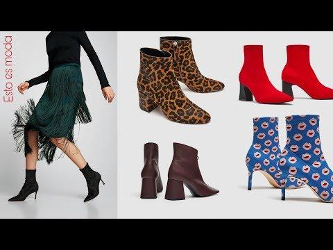 ZARA MUJER: botines y botas de nueva colección 2018| planos y tacón, los más bonitos | fashion boots