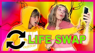SWITCHING LIVES FOR A DAY | SIS VS BRO | We Are The Davises