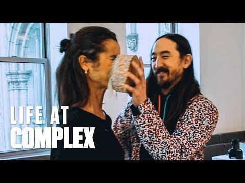 STEVE AOKI, WHY DO WE THROW CAKES? | #LIFEATCOMPLEX