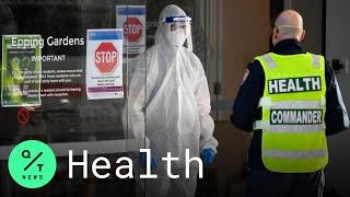 Australia Sets Coronavirus Record As Melbourne Lockdown Struggles
