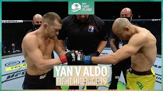 Petr Yan and Jose Aldo battled it for the vacant bantamweight title at #UFC251.  Subscribe to our YouTube channel for the best videos from BT Sport  ➡️ http://bit.ly/17YTeL5  Subscribe to our Boxing YouTube channel ➡️ http://po.st/NoFilterYT  Twitter: http://twitter.com/btsport Facebook: http://www.facebook.com/btsport Instagram:http://instagram.com/btsport Website: http://sport.bt.com