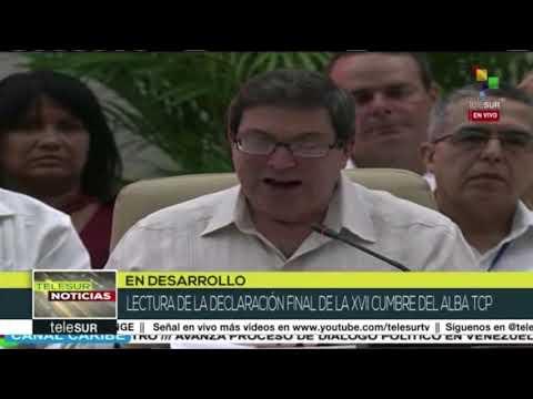 Declaración de la XVII Cumbre de Jefes de Estado y de Gobierno del ALBA-TCP