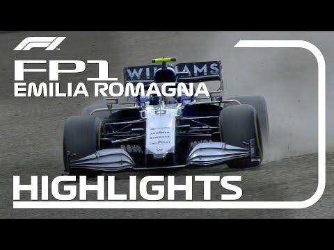 F1第2戦エミリア・ロマーニャGP(イモラ)フリープラクティスのハイライト動画